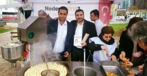 CHP Ataşehir İlçe Başkanlığı Hayır lokması Dağıtımı 2017