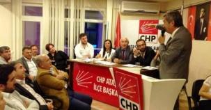 CHP Ataşehir İlçe Başkanlığı örgüt toplantısı