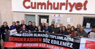 CHP Ataşehir İlçe Başkanlığı,  Cumhuriyet Gazetesi Destek Ziyareti