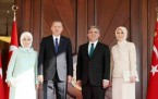 Cumhurbaşkanlığı Töreni, Abdullah Gül, Tayyip Erdoğan 2014