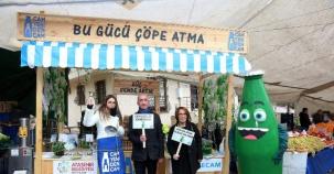 Ataşehir'de Getir Boş Cam Şişeyi Kurtar Geleceği Etkinliği
