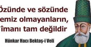 Hacı Bektaş-i Veli Anma Töreni Fotoları 2016
