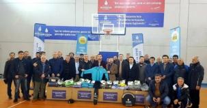 İBB, Atasehir'de Bulunan Amatör Spor Kulüplerine Yardım dağıttı