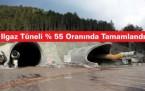 Ilgaz Kastamonu Tüneli % 50'si Bitti