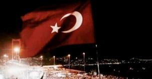 İstanbul Bogaziçi Köprüsü, Darbe girişimi Protesto Yürüyüşü 2016