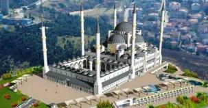 İstanbul Çamlıca Cami Fotoları