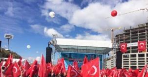 İstanbul Finans Merkezi Ataşehir Açılış fotoları 2016