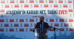 Kadir Topbaş, Anayasa Referandumu Ataşehir Etkinliği 2017