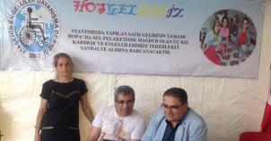 Kaskon, Ataşehir Engelliler Derneği, Ataşehir Stantı, 2015