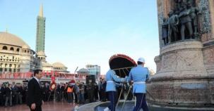 Gazi Mustafa Kemal Atatürk İstanbulda Törenlerle anıldı