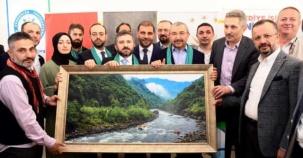 Ataşehir'de Rizeliler İsmail Erdem'le Buluştu