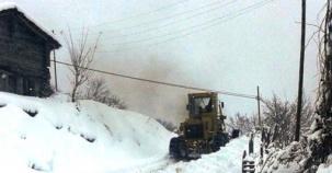 Sinop, Erfelek, Horzum Köyü Kış Manzaraları, 2016
