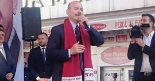 İçişleri Bakanı Süleyman Soylu Ataşehir Referandum Çalışması 2017