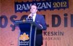 Sultanbeyli İftar Egemen Bağış 2012