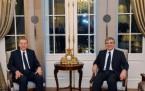 Tayyip Erddoğan, Abdullah Gül, Cumhurbaşkanı resepsiyon