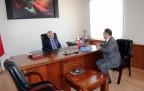 Çankırı Valisi Vahdettin Özcan, Ilgaz Kaymakamlık Ziyareti