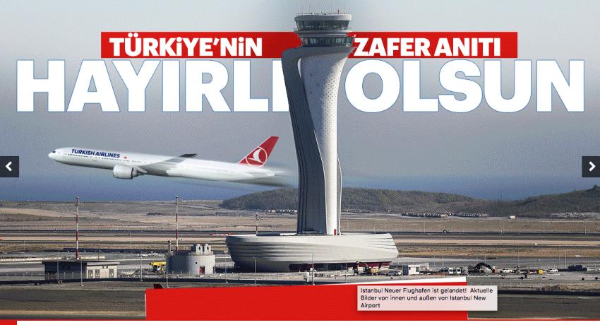 Yeni İstanbul Havalimanı Açılış Fotoları 2018