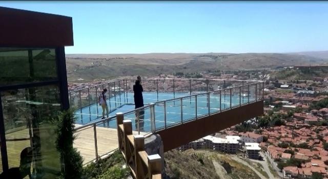 Türkiye'nin En Büyük Cam Seyir Terası Çankırıda