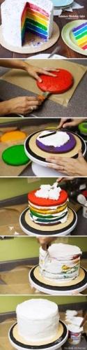 Yedi Renk pasta Resimleri