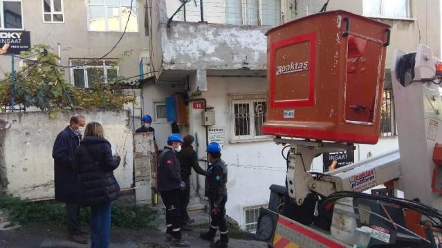 Yenisahra Mahallesi Kentsel Dönüşüm Karot Alınan Binaları Tahliyesi 2020