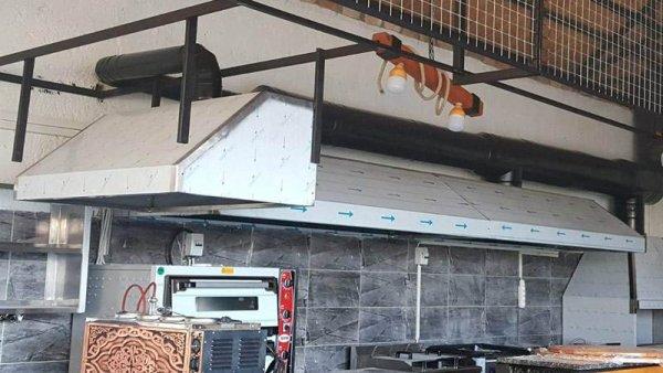 ALTAŞ davlumbaz Havalandırma bacası lokanta bacası