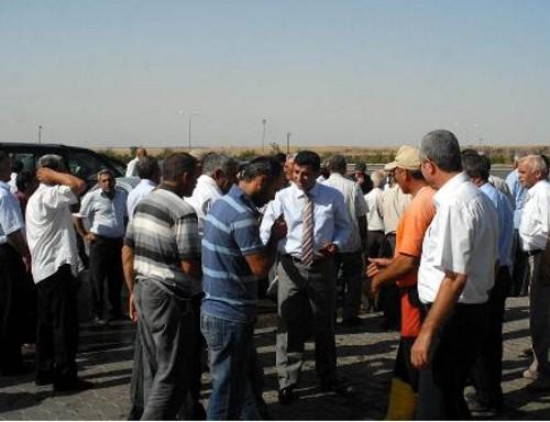 Hatay'da BDP konvoyuna geçit yok
