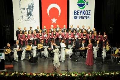 Beykoz Belediyesi Musiki Topluluğu bu kez 'Anneler günü' dolayısıyla sahne aldı.