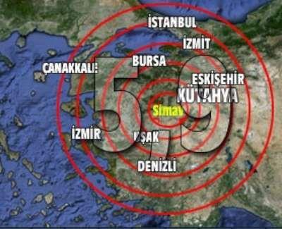 Simav depremi Marmara ve Ege'yi salladı: 2 ölü, 80 yaralı