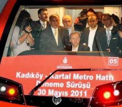 Kadıköy-Kartal hattında deneme sürüşü
