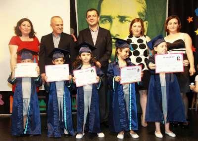 Ataşehir Fidan Kalpler Çocuk Yuvası ilk mezunlarını verdi