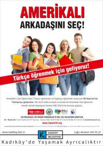 Amerikalı öğrencileri misafir edecek Türk Aileler aranıyor