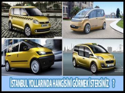 İstanbullu taksisini seçiyor