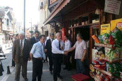 İstanbul Valisi Mutlu Şile'de İncelemelerde Bulundu.