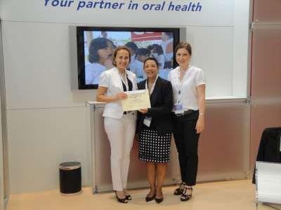 Dünya Pediatrik Diş Hekimleri Birliği'nin Ödülü Kadıköy Belediyesi'ne