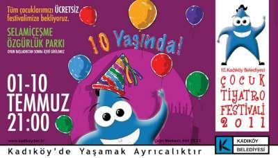 10. Kadıköy Belediyesi Çocuk Tiyatro Festivali Başlıyor