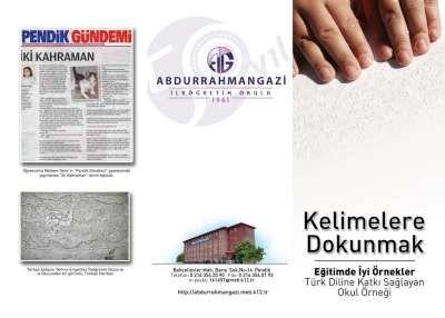 İstanbul'un birincisi Abdurrahmangazi İlköğretim Okulu