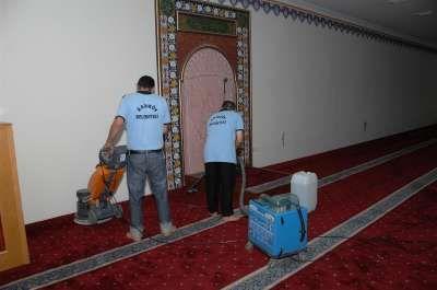 Kadıköy' deki camilerde ramazan temizliği