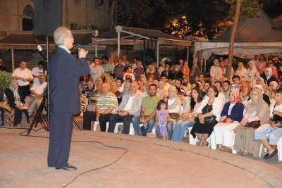 Pendik'de Ramazan konserleri Sami Özer ile başladı