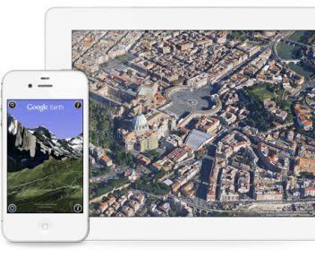 2013 Mobil Cihazlar için Google Earth İndir