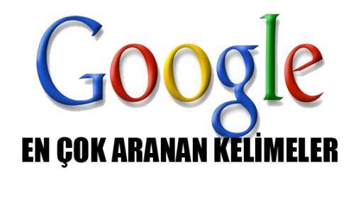 2013'te Google'da En Çok Aranan Kelimeler Belli Oldu