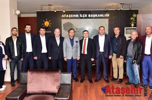 Ahmet Misbah Demircan'a, Ataşehir'de yoğun ilgi