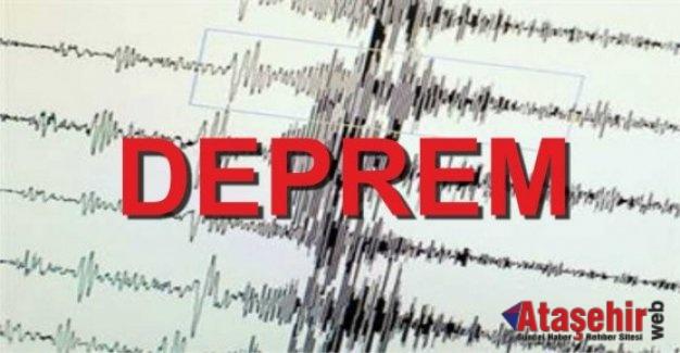 Marmara'da 4.5 büyüklüğünde korkutan deprem!