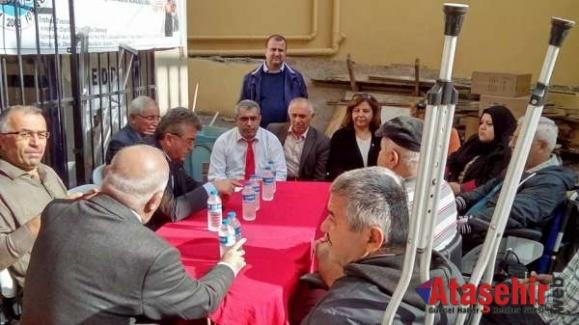 Yakup Akkaya Ataşehir'de Seçim çalışmalarına katıldı