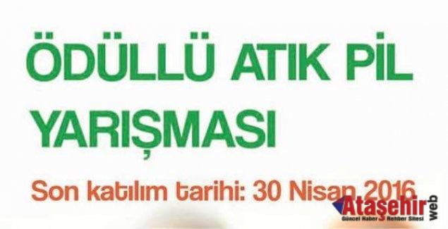 Ataşehir'de Atık Pil Toplama Yarışması yeniden başlıyor