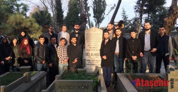 Celal Hoca'ya Ak Parti Ataşehir Gençlik Kollarından vefa