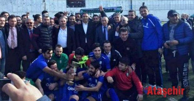 Ataşehir Çamoluk Spor Şampiyonluğunu ilan etti