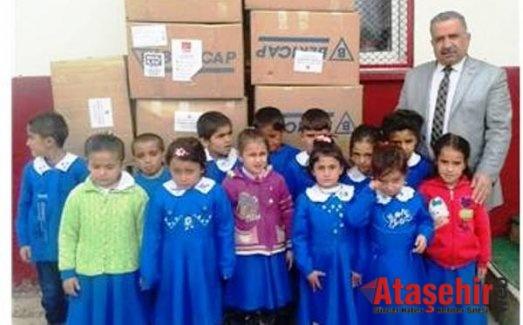 CHP Ataşehir'den Van, Gürpınarlı Öğrencilere giyim ve kırtasiye yardımı
