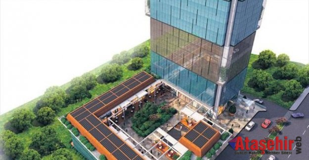 Ataşehir  Finans Merkezi'ne 200 milyonluk komşu geldi