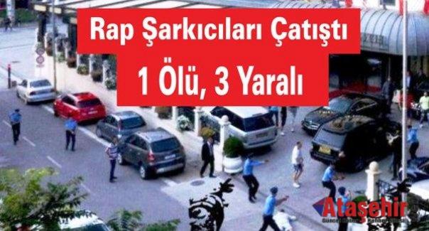Rap Şarkıcılar Çatıştı: 1 Ölü, 3 Yaralı