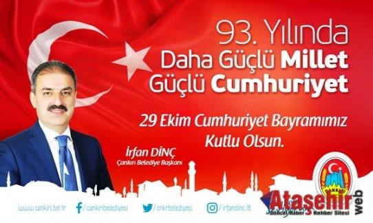 Başkan Dinç'in 29 Ekim Cumhuriyet Bayramı Mesajı